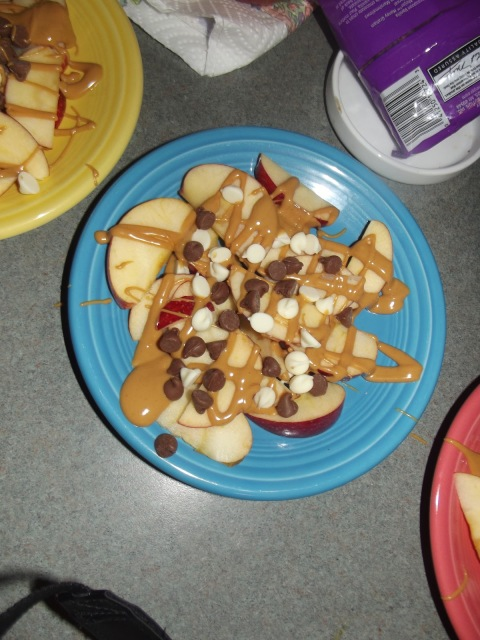 Apple Nachos, YUM!